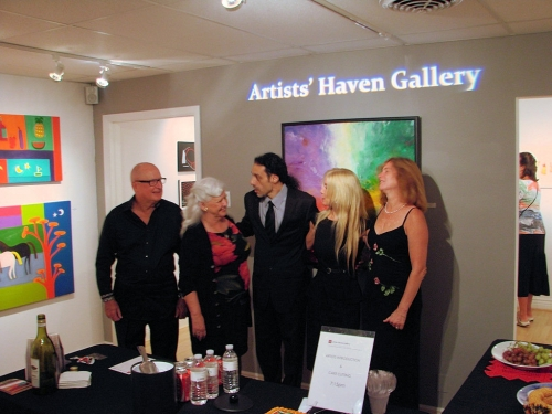 artist haven party